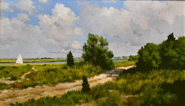 Harley Bartlett, 'Island Road', 2018, The Guild of Boston Artists