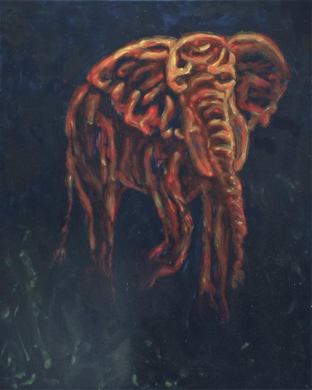 , 'Requiem R626 II (Elephant),' 2013, Galerie Kronsbein