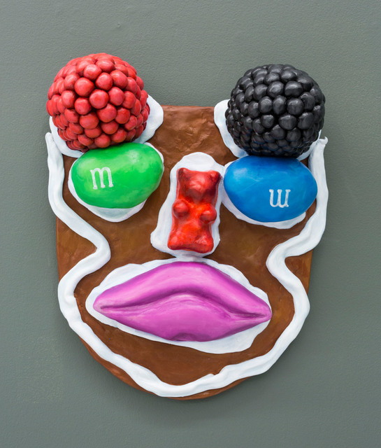 , 'Ceremonial Mask, Sweet Lips,' 2016, The Hole