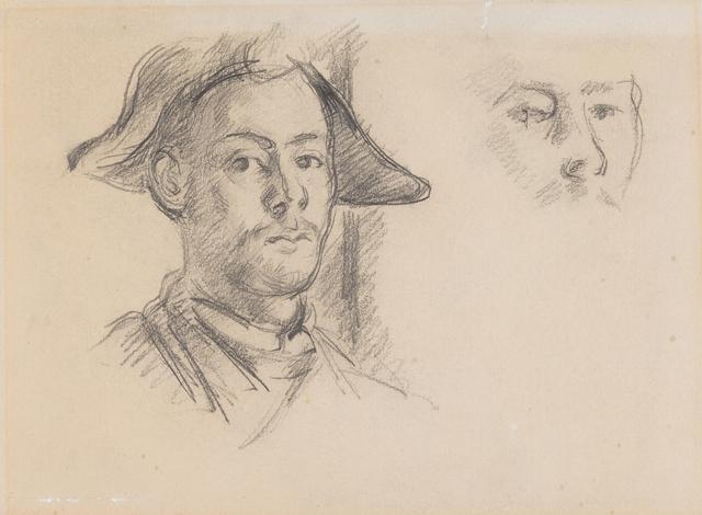 , 'Paul Cézanne fils als Harlekin,' ca. 1888, Kunstmuseum Basel