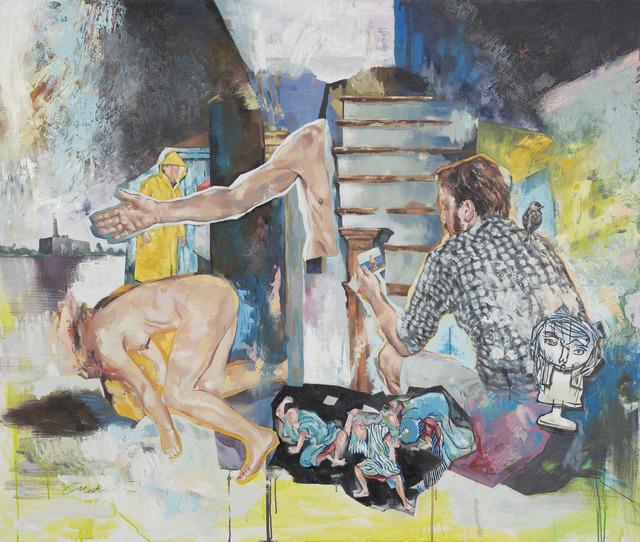 """, '""""GOLDSTEIN'S AGENT"""",' 2013, Art Next Istanbul"""