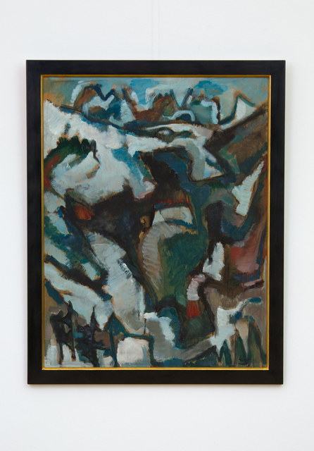 , 'Langkofel,' 1964, Hagemeier