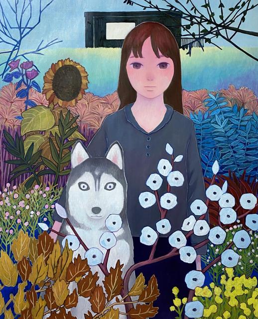 Tatsuhito Horikoshi, 'Botanical Garden', 2020, Painting, Oil and Acrylic on Canvas, A2Z Art Gallery