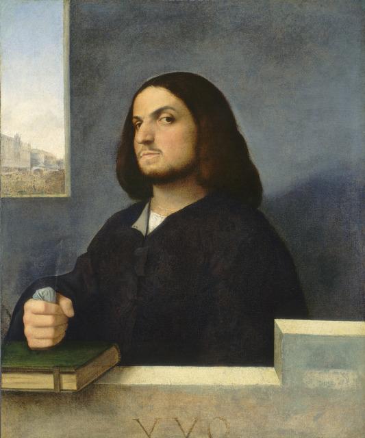 Giorgione, 'Portrait of a Venetian Gentleman', ca. 1510, National Gallery of Art, Washington, D.C.