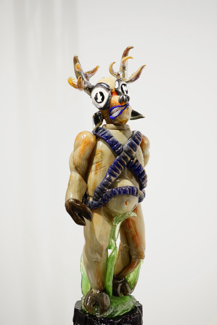 , 'DEER GOD,' 2017, Traver Gallery