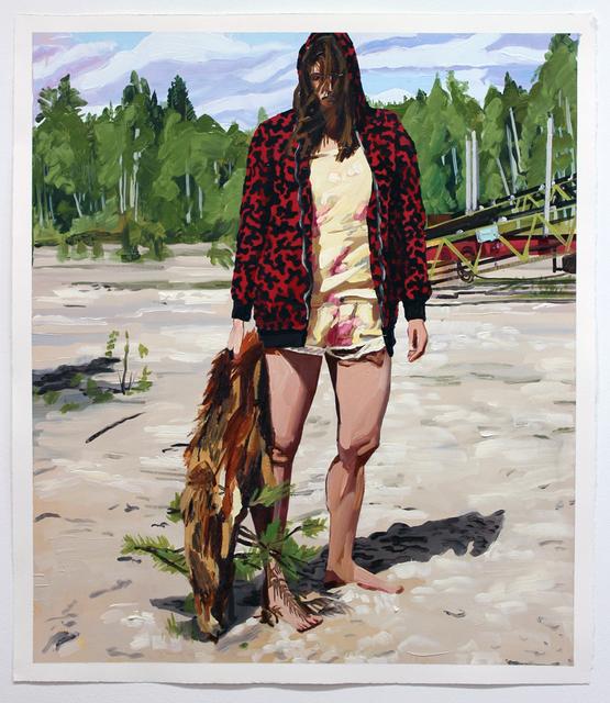 , 'While Waiting III,' 2015, Galleri Magnus Karlsson