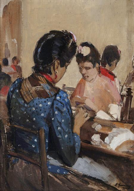 , 'Cigarette Makers in Seville,' ca. 1892, Robilant + Voena