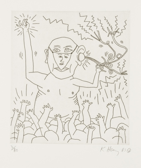 Keith Haring, 'Untitled (From the Valley Suite) (see Littman p.136-141)', 1989, Forum Auctions