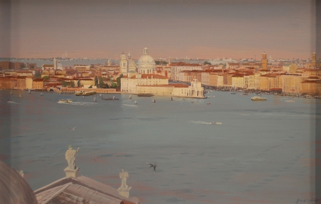 ", '""Venice (view from Campanile di San Giorgio Maggiore)"",' 2018, Bonner David Galleries"