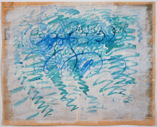 , 'Untitled (Blue Zig-Zags),' 1988, Mai 36 Galerie