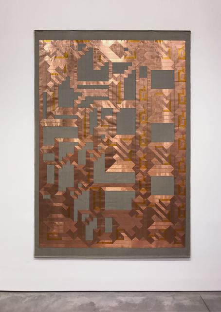 , 'A Labyrinth of a straight line,' 2017, Galería OMR