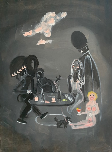 Oh de Laval, 'Everyone has a dark which he never shows to anybody', 2018, Unit London