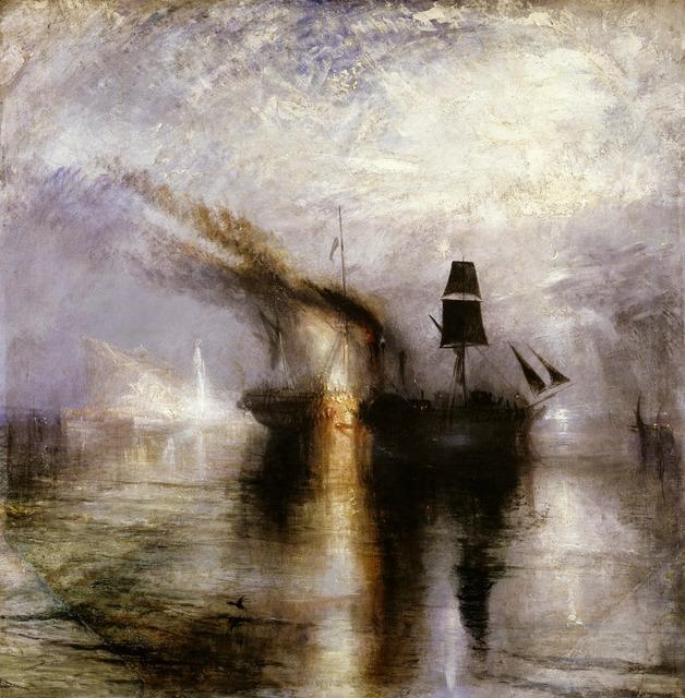 , 'Peace – Burial at Sea,' 1842, de Young Museum