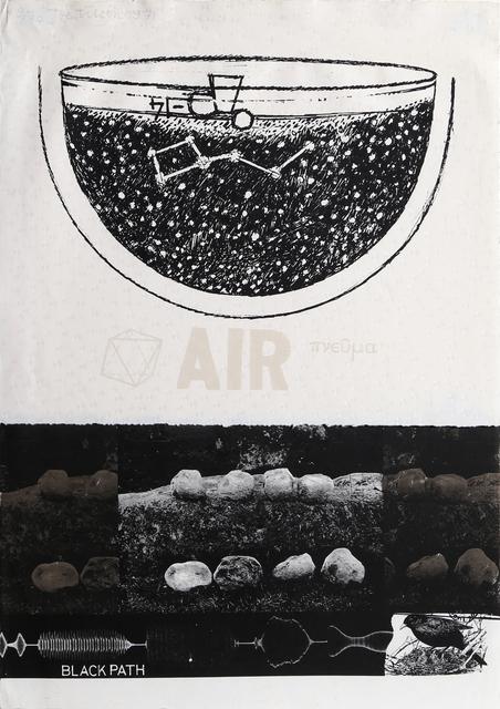 Joe Tilson, 'Blackpath Air', 1971, RoGallery
