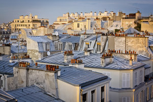 , 'Paris Roof Tops,' ca. 2017, Jessica Hagen Fine Art + Design