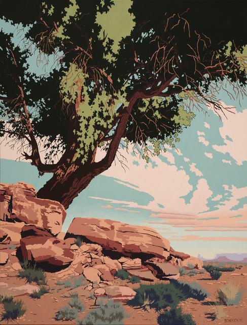 , 'Jackrabbit Ridge,' 2017, Blue Rain Gallery