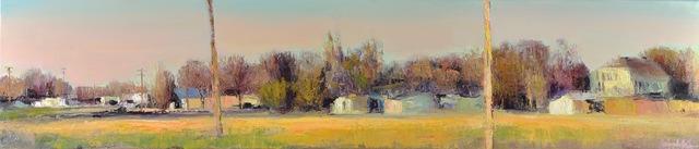 , 'Small Town Sunset,' 2018, Mark White Fine Art