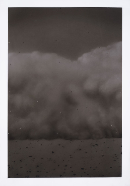 Ali Kazim, 'Untitled (Storm series)', 2018, Painting, Pigments on mylar, Jhaveri Contemporary
