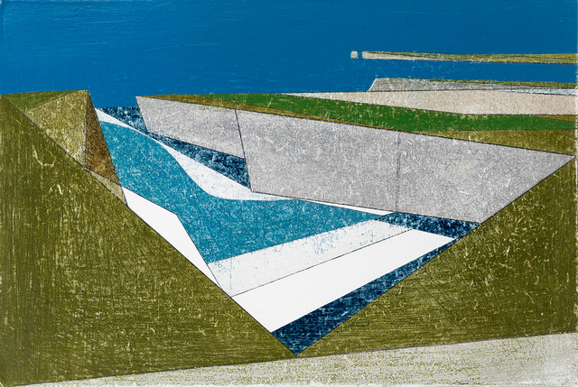 Vanessa Gardiner, 'Wave Line 9', ca. 2019, Painting, Acrylic on board, Sladers Yard