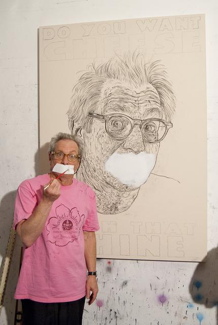 , 'Robbie Conal,' 2008, Joshua Tree Art Gallery