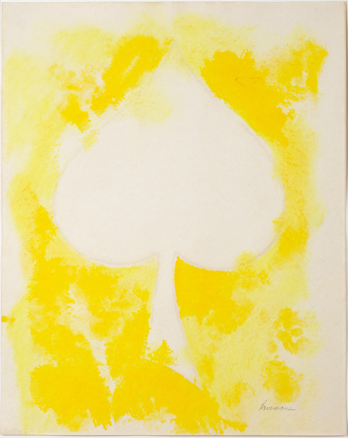 , 'Untitled (white spade),' 1975, Thomas Dane Gallery