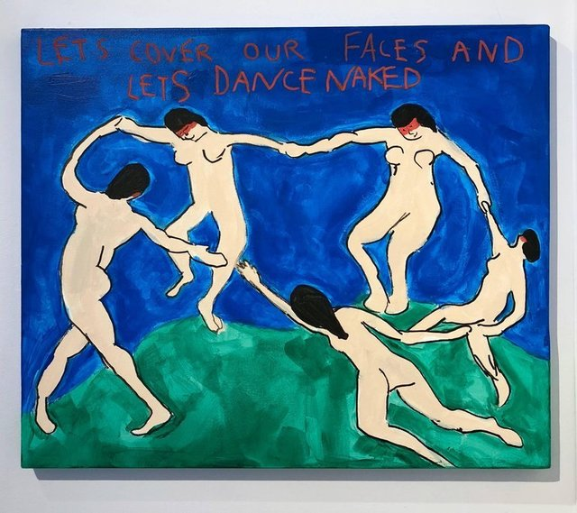 , 'Lets Dance Naked (Matisse),' 2018, Krause Gallery