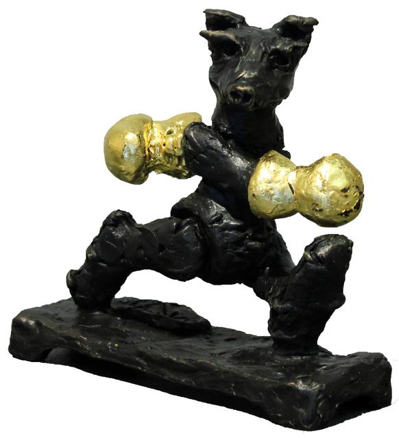 , 'Little Boxing Bear (Gold Gloves),' , Gormleys Fine Art