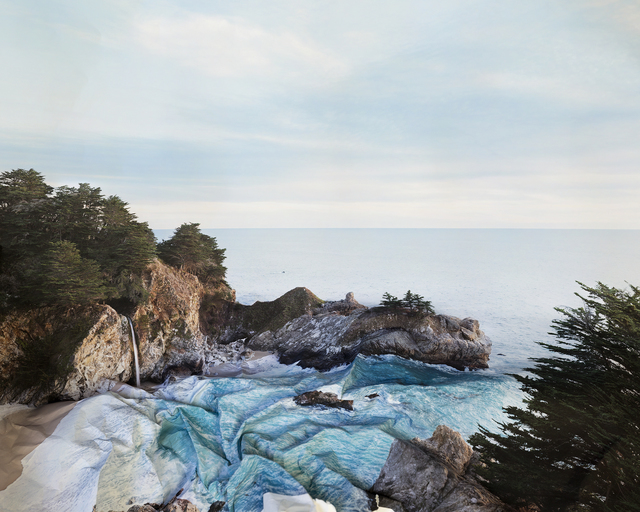, 'Response to Print of McWay Falls,' 2013, Pictura Gallery