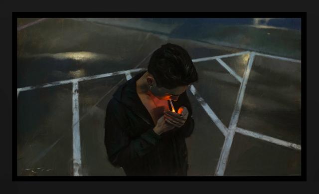 , 'Breathe The Burn,' 2015, ARCADIA CONTEMPORARY