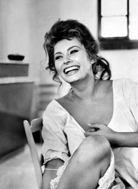 """Alfred Eisenstaedt, 'Sophia Loren in """"Madame""""', 1961, Holden Luntz Gallery"""