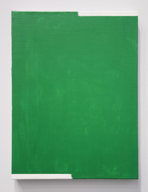 , 'When 2 Directions Become All Directions (Green),' 2016, Minus Space