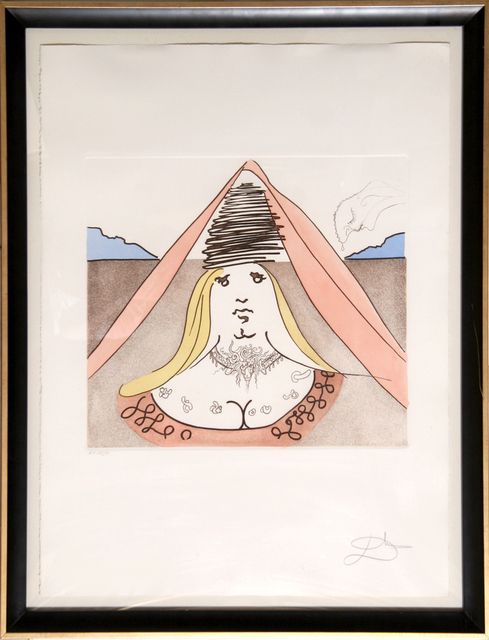 Salvador Dalí, 'The Lady of Dulcinea', 1981, RoGallery