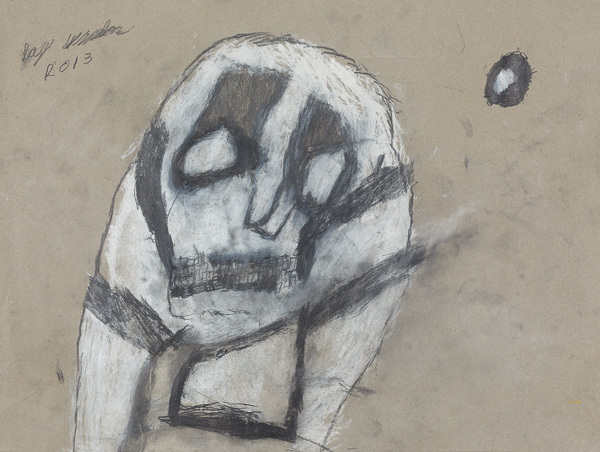 , 'Skull,' 2013, Creativity Explored