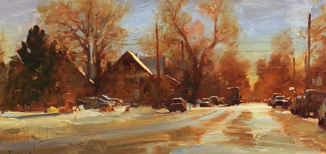 , 'Warm Winter Streets,' , Stremmel Gallery
