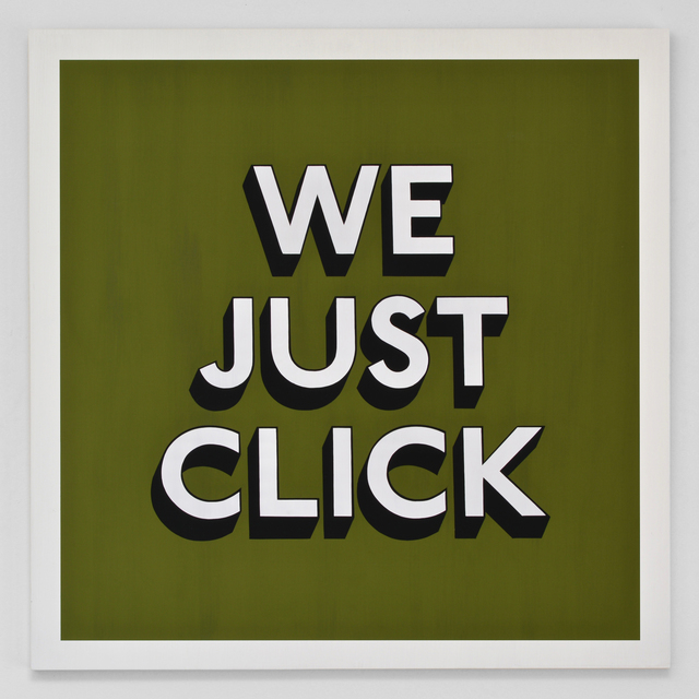 , 'WE JUST CLICK,' 2019, Hang-Up Gallery