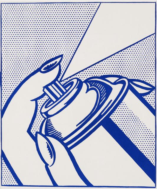 Roy Lichtenstein, 'Spray Can', 1963, Galerie d'Orsay