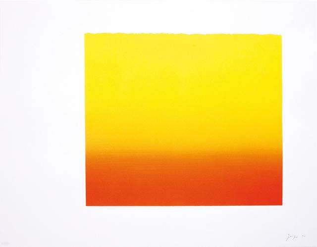Rupprecht Geiger, 'Düsseldorfer Rot (Gelb)', 2003, Walter Storms Galerie