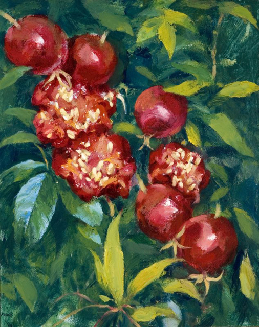 , 'Rose Hips and their Inner Glory,' , Dowling Walsh