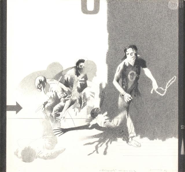 Gianfranco Ferroni, 'Aggression', 1974, Bertolami Fine Arts
