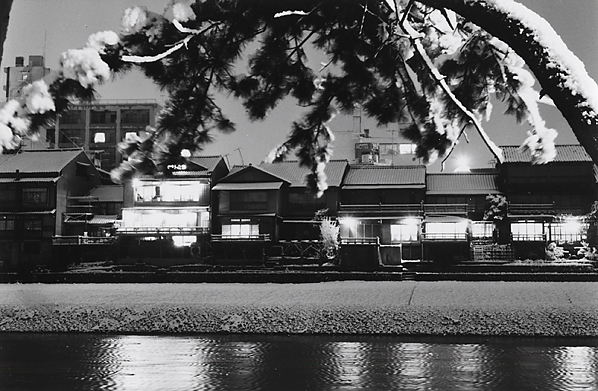 Kiichi Asano, 'Untitled - Houses at Night', c1958, Scott Nichols Gallery