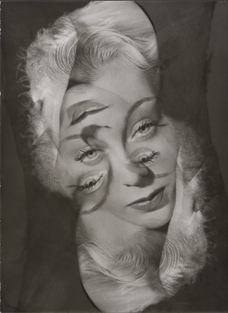 , 'Experimental portrait of a woman,' 1931-1940, Jeu de Paume