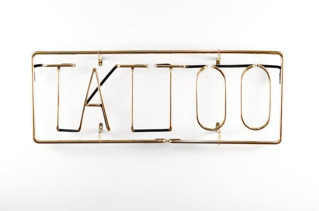 , 'TATTOO,' 2014, Greg Kucera Gallery