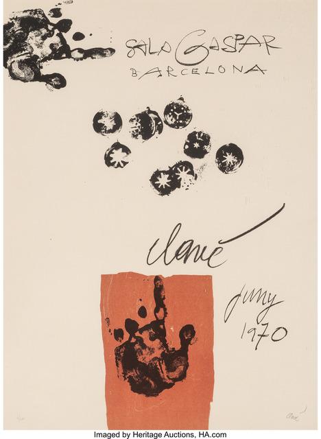 Antoni Clavé, 'Sala Gaspar Barcelona', 1970, Heritage Auctions