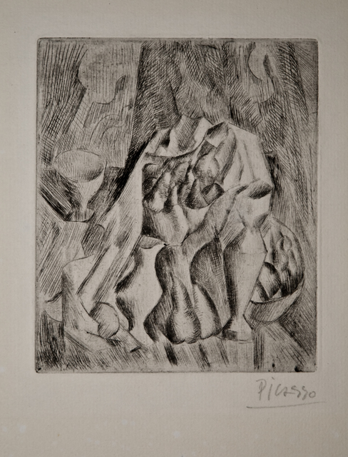 Pablo Picasso, 'Nature morte au compotier', 1908-1909, John Szoke