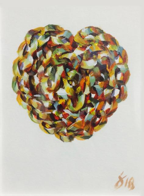 , 'Love Chain,' 2018, Gallery at Zhou B Art Center