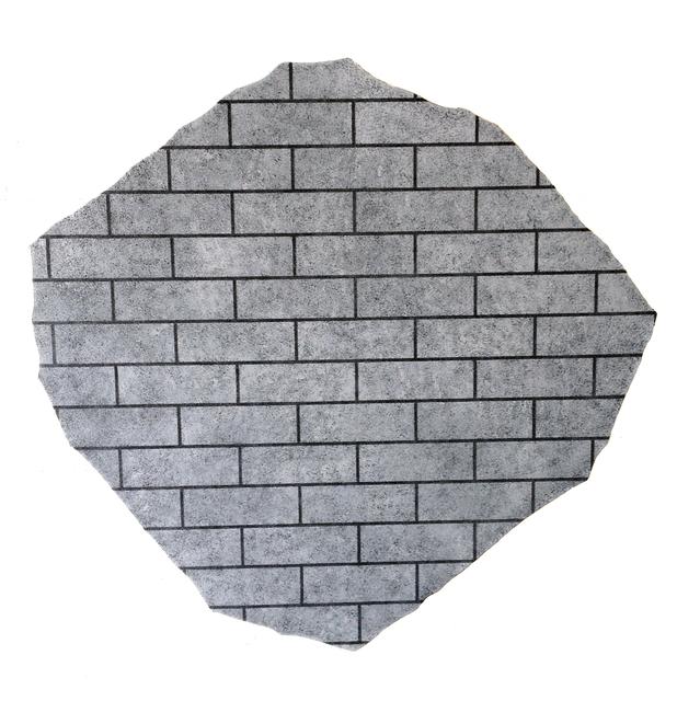 , 'Bricks n°8,' 2013, Rotwand