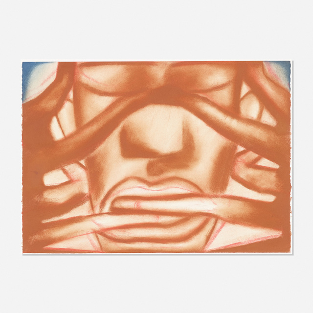 Francesco Clemente, 'Compass (from the Canossa Series)', 1992, Wright