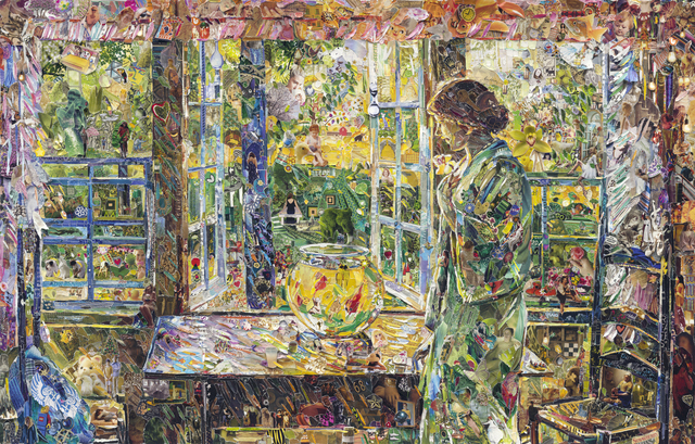 , 'The Goldfish Window, after Childe Hassam (Pictures of Magazines 2),' 2013, Ben Brown Fine Arts