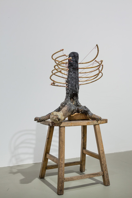 , 'Sitting on a throne which is not there,' 2014, Ota Fine Arts