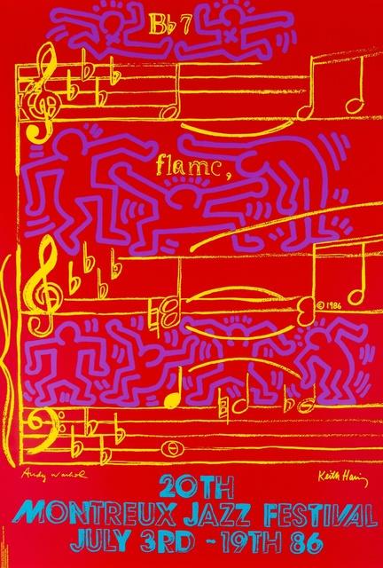 Andy Warhol, '20th Montreux Jazz Festival (Marechal 47)', 1986, Forum Auctions